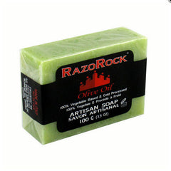 RazoRock- Olive Oil Bath Soap, 3.5oz