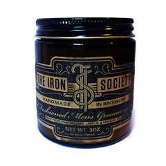 The Iron Society - Old Fashioned Men's Grooming Aid, 3 oz.
