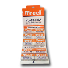 Treet - Platinum Super Stainless Razor Blades, 100 ct.