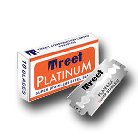 Treet - Platinum Super Stainless Razor Blades, 10 ct.