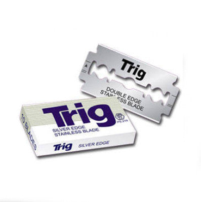 Trig - Silver Edge Stainless Razor Blades, 10 ct.