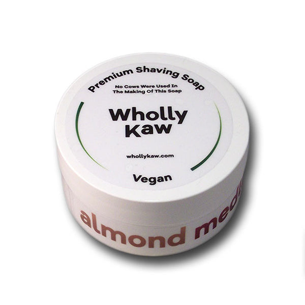 Wholly Kaw - Almond Medley Shaving Soap, 4 oz.