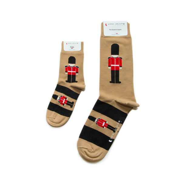 Just Like Dad - Queen'S Guard Socks