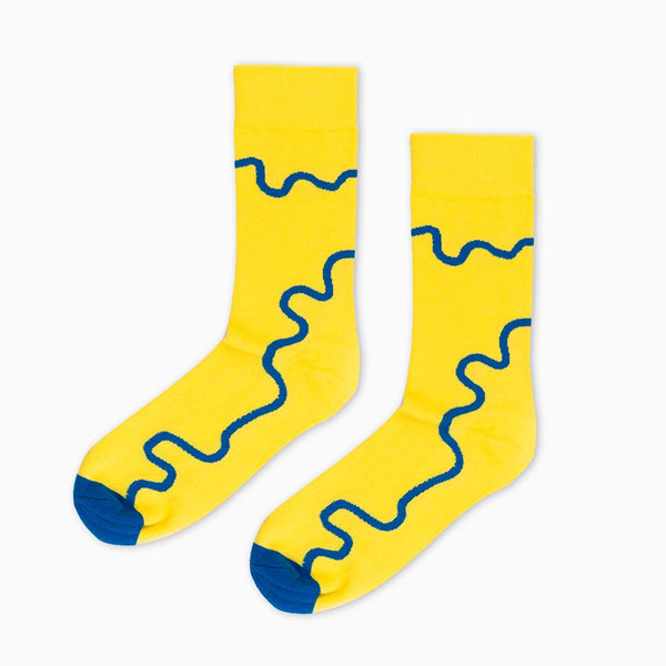 Socks - 6K Edition Yellow By Nick Rawcliffe