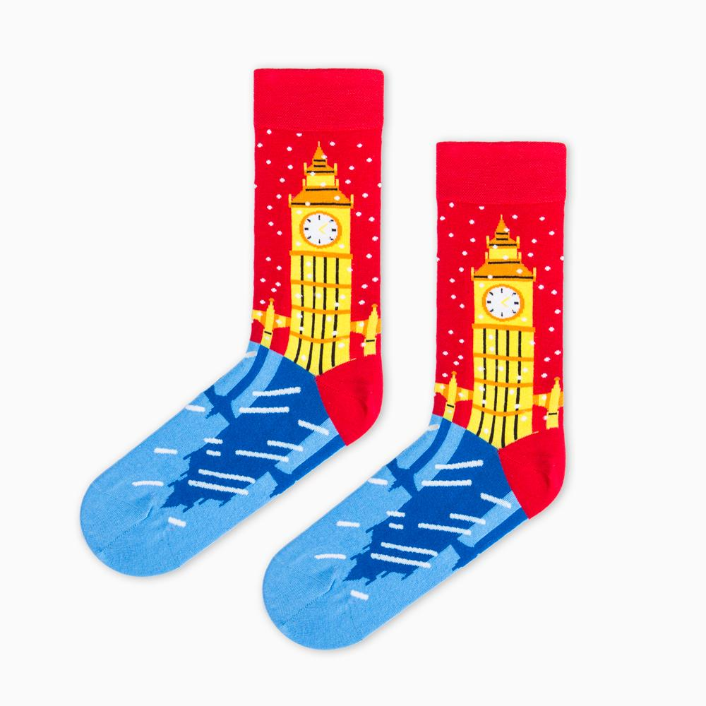 Socks - The Magic Of London By KiKi Ljung