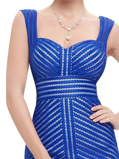 Beautiful Mermaid designed dress with a layered Fishtail detail