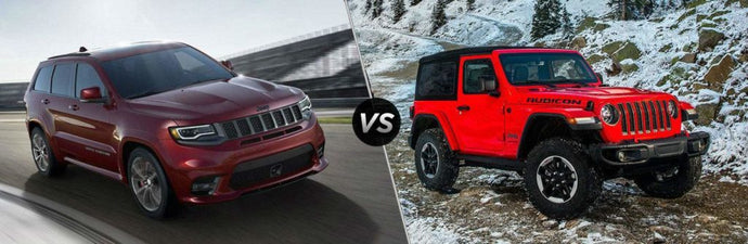 Jeep Grand Cherokee Vs Jeep Wrangler, Which Is a Better Ride?