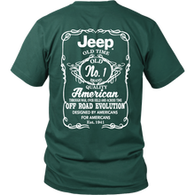 1941 American Jeep (Back and Front Print)