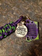 """Jeep Girls Do It In The Mud"" Jeep key fob"