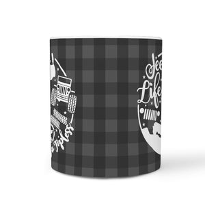 Jeep Life 360° Printed Wrap Mug