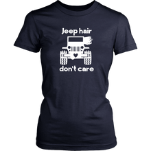 """Jeep Hair Don't Care""- Jeep Themed T-Shirt"