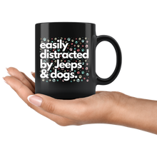 Jeep Mug, easily distracted by jeeps and dogs