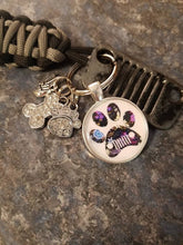 Jeep Grill Key Fob with dog print