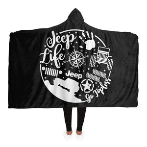 """Jeep Life"" Hooded Blanket"