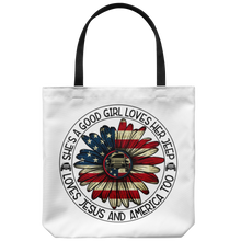 Jeep Girl Themed Tote Bag