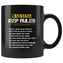 Jeep Rules Mug For Jeep Fans