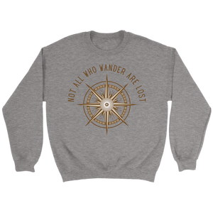 Not All Who Wander Are Lost Sweater