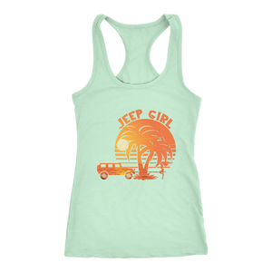 Jeep Girl Tank Top