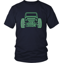 """Jeep Addict"" T-Shirt"