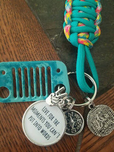 Live for the Moments Grill Key Fob ***Limited Edition***