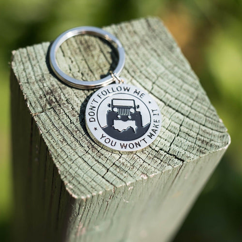 Key Chain for Jeep Enthusiasts -Key rings for Jeep
