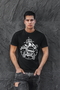 """Jeep - The American Legend"" T-Shirt & Tank Top"