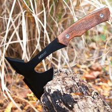 "9"" SURVIVAL TOMAHAWK TACTICAL THROWING AXE w/ SHEATH Hatchet Knife Hawk"