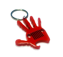 Jeep Wave Key Chain With Bottle Opener