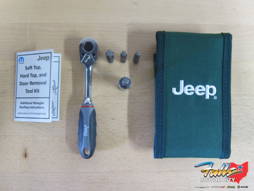 2007-2016 Jeep Wrangler JK Hard Top & Door Install & Removal Tool Kit Mopar OEM