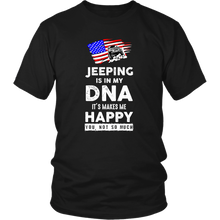 """Jeep DNA"" - Funny Jeep Themed T-Shirt"