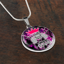 """Jeep Princess"" Circle - Necklace w/Adjustable Chain"