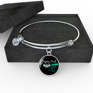 """Jeepsy Soul"" Luxury Circle Bangle Bracelet & Necklace"