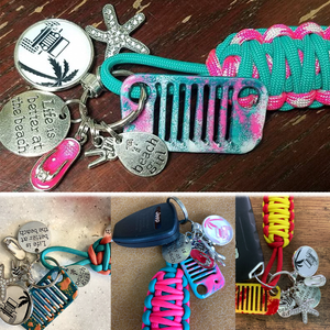 Beach Girl + Better at the Beach Jeep Grill Key Fob