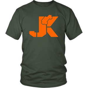 Jeep JK T Shirt Orange Style