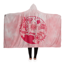 Jeep Life Hooded Blanket