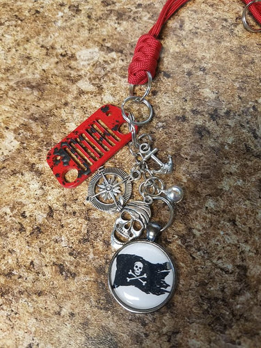 Jeep Rear View Mirror Charms - Pirates Life for ME!