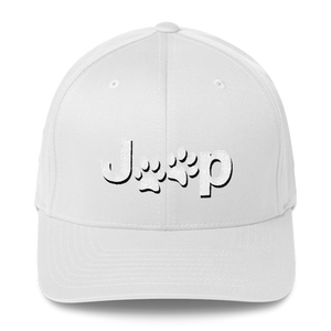 Embroidered Structured Twill Cap