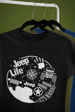 """Jeep Life - Let's Wander""  Jeep Inspired T-Shirt"