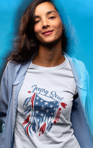 """Jeepsy Soul"" Women T-Shirts"