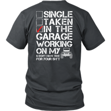 """Working On My Jeep"" - Jeep Inspired T-Shirt"