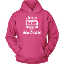 """Jeep Hair Don't Care"" Hoodie"