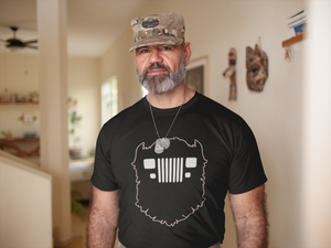 Jeep YJ Beard T-Shirt