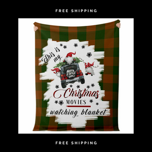 """Jeep Christmas"" Themed Blanket"