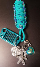 """Dreaming of the sea"" Jeep Grill Key Fob"