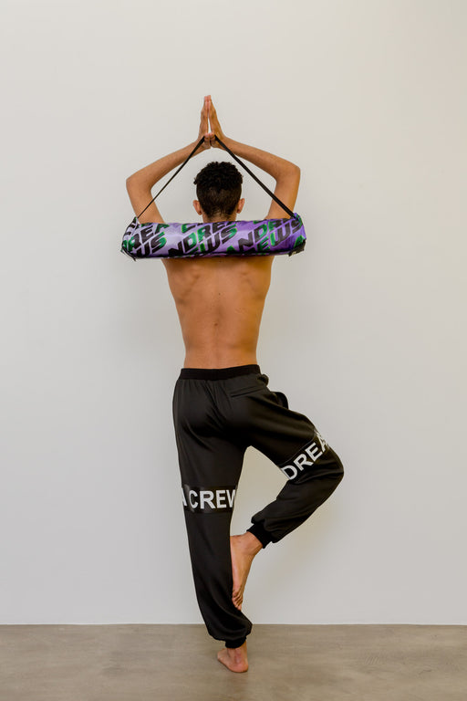 MIRZ x ANDREA CREWS PURPLE YOGA SET