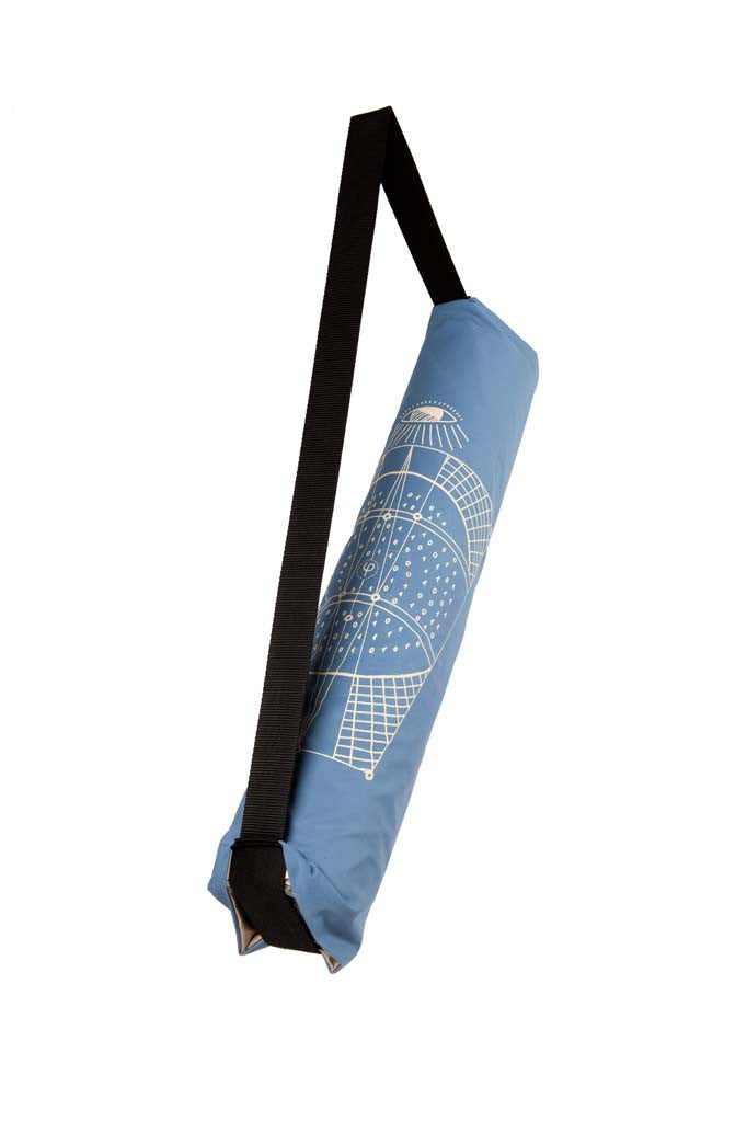 FADED BLUE YOGA BAG x 'A.I.' KYLAM PRINT