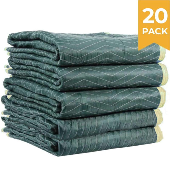 Burlap Pad Furniture Moving Blanket 1.8m x 3.0m 20 PACK Moving Blankets and Burlap Pads Packstore Australia