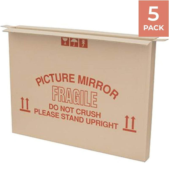 Picture / Mirror Moving Box - 5 PACK Moving Boxes Packstore Australia