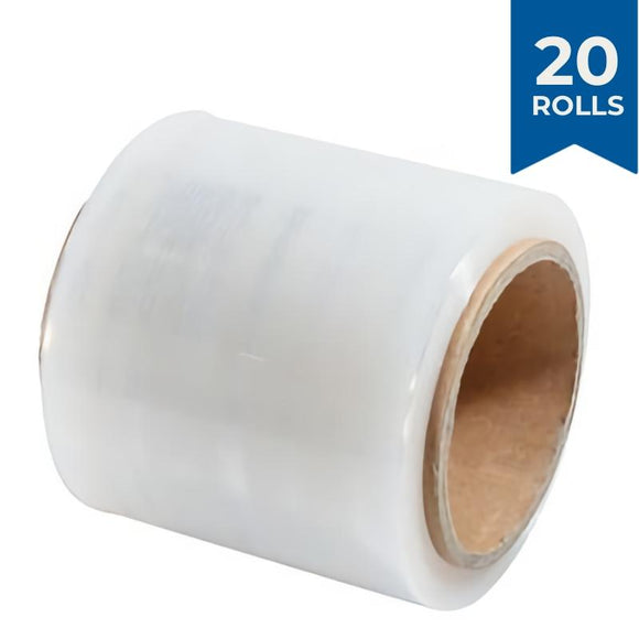 Bundling Film Stretch Wrap 100mm x 300m 20 PACK Stretch Wrap and Bundling Film Packstore Australia Clear
