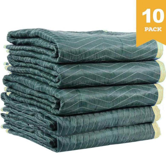 Burlap Pad Furniture Moving Blanket 1.8m x 3.0m 10 PACK Moving Blankets and Burlap Pads Packstore Australia